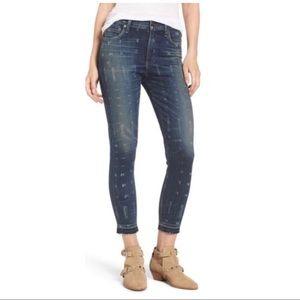 Citizens Of Humanity Rocket Hem Crop Jeans